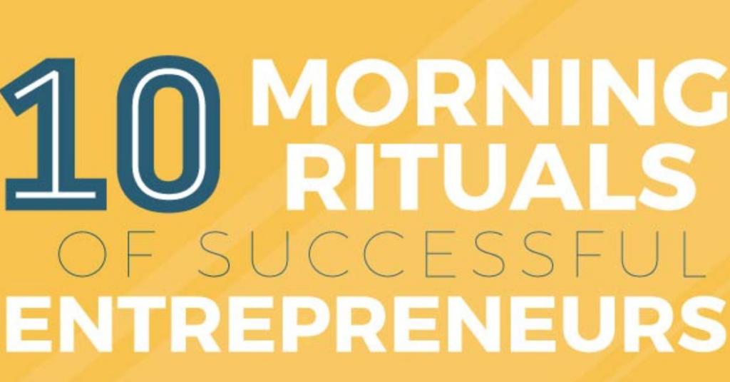 10 morning rituals