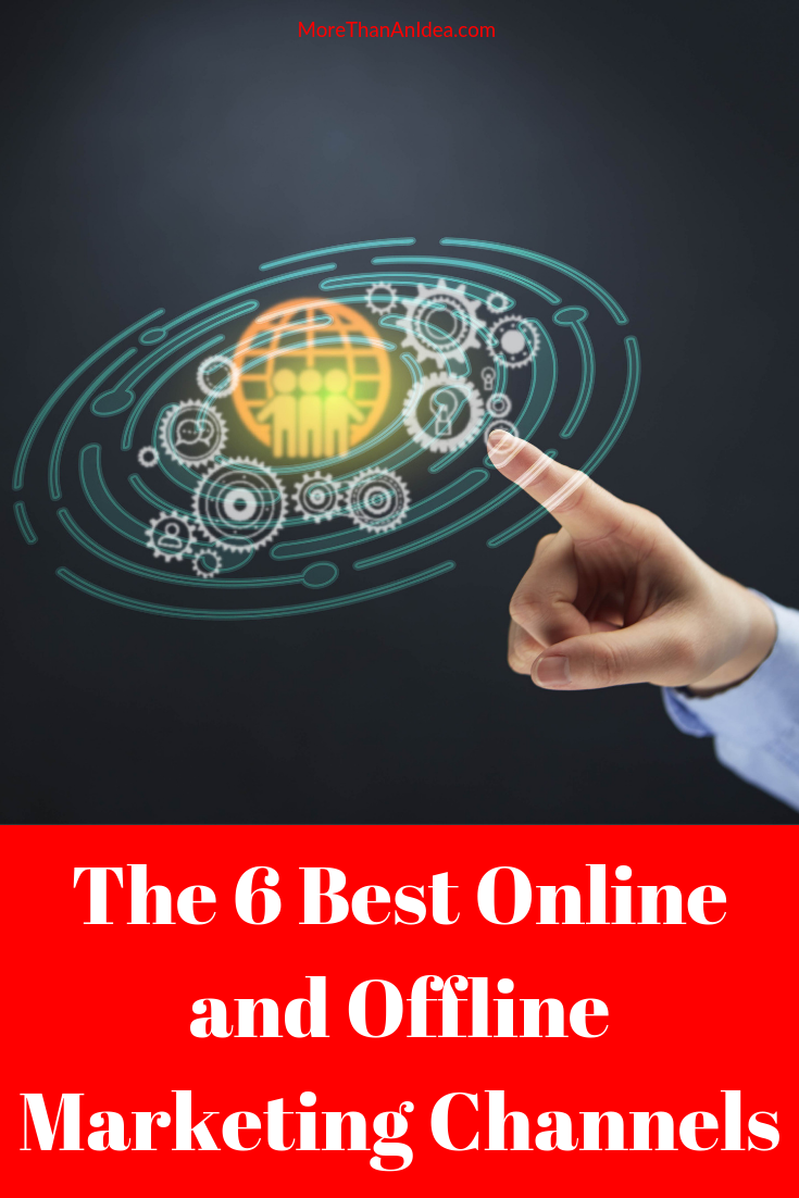 With the rise of online marketing over the last few decades, there is now a head-spinning variety of methods to add to traditional offline approaches you can use to put your offer in front of your target market.  Here are some of today's key marketing channels both online and off.  #offlinemarketing  #onlinemarketing